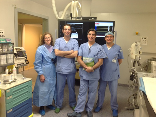 Our cath lab at Fatebenefratelli Hospital in Milano