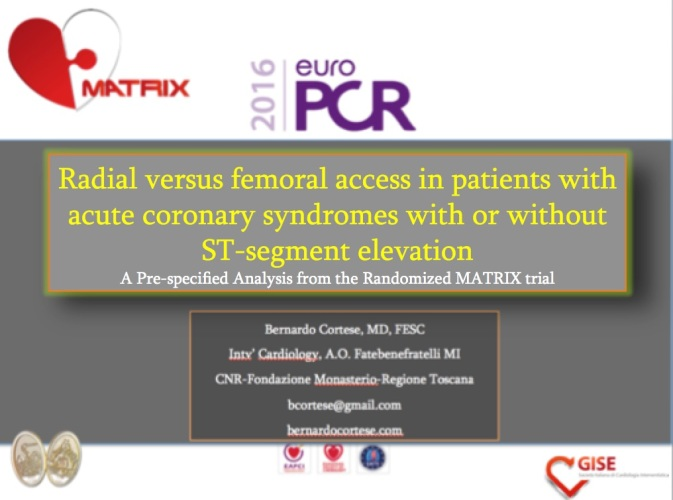 EuroPCR coverage 2