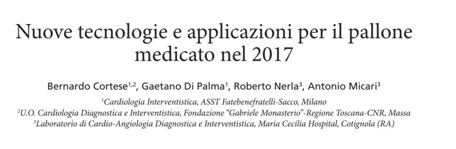 Nuove tecnologie e applicazioni per il pallone medicato nel 2017
