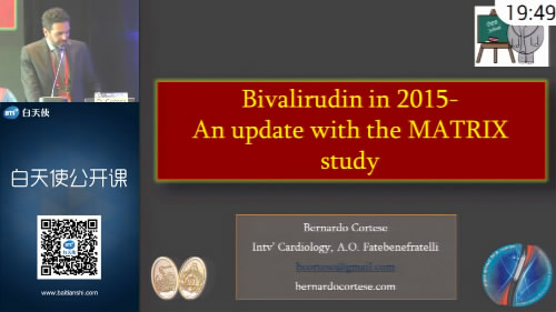 Bivalirudin use-an update after the Matrix trial
